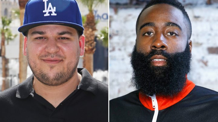Rob Kardashian Impressed by Khloe Kardashian's Ex James Harden's Basketball Streak: 'Sheesh'