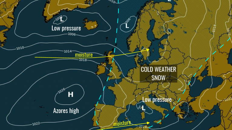UK weather forecast – SNOW map shows Britain's 'dangerous' -10C freeze sweeping over the UK this weekend sparking 'mayhem'