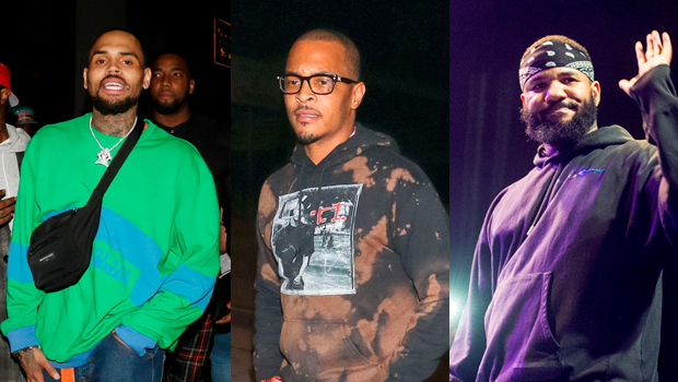 T.I., The Game & More Publicly Support Chris Brown Amid Rape Allegations: 'Hold Ya Head Up'