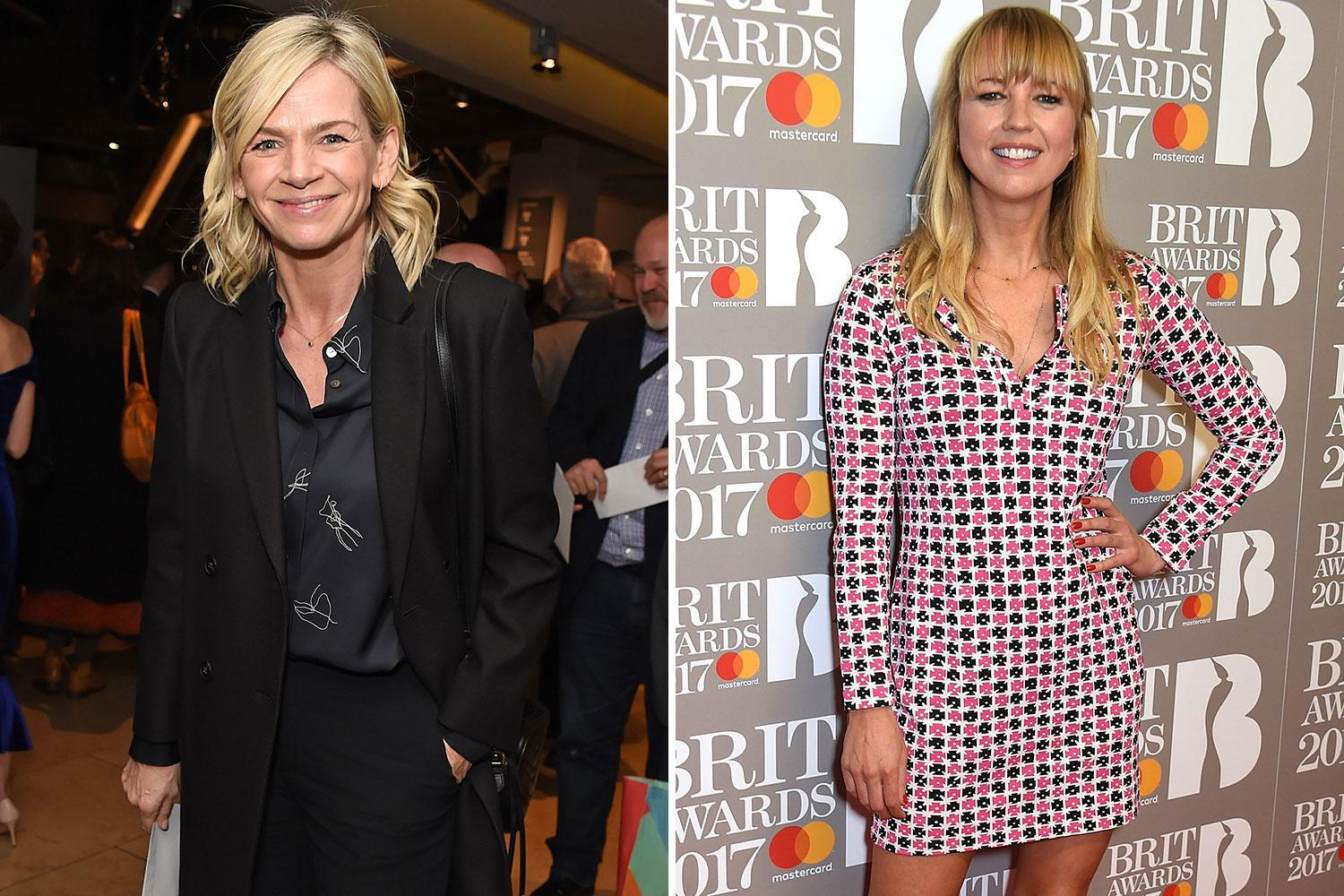 Zoe Ball claims Radio 2 Breakfast gig is first time she's beaten pal Sara Cox to a job