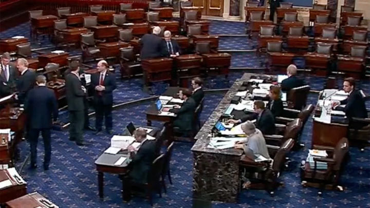 Senate rejects competing bills to reopen government