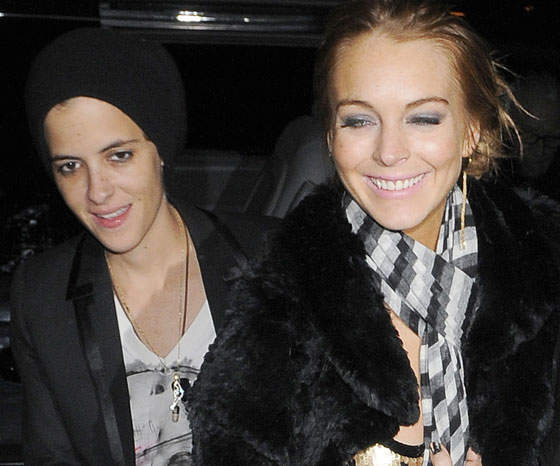 Lindsay Lohan Claims She and Samantha Ronson Were More Like Friends Than Lovers