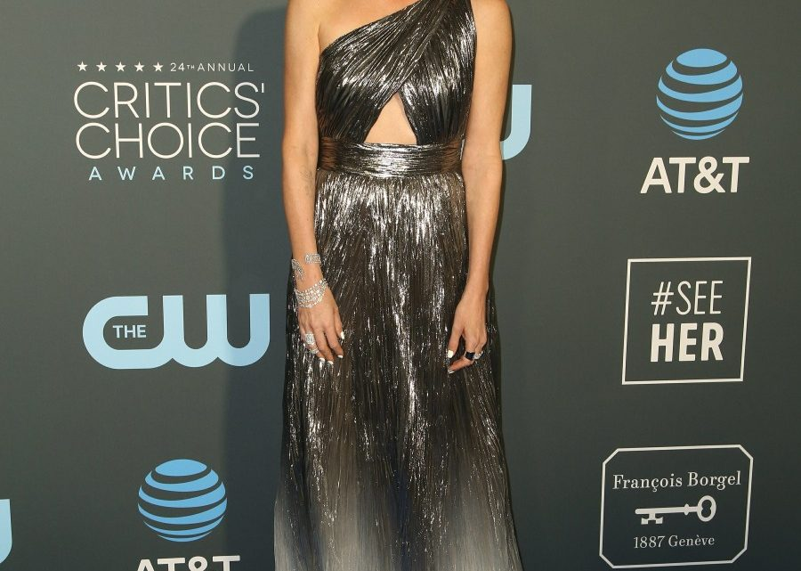 Charlize Theron in Givenchy at the Critics Choice Awards: overdone or stunning?