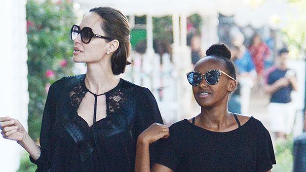 Zahara Jolie-Pitt Turns 14: See How Much Brad & Angelina's Oldest Daughter Has Grown
