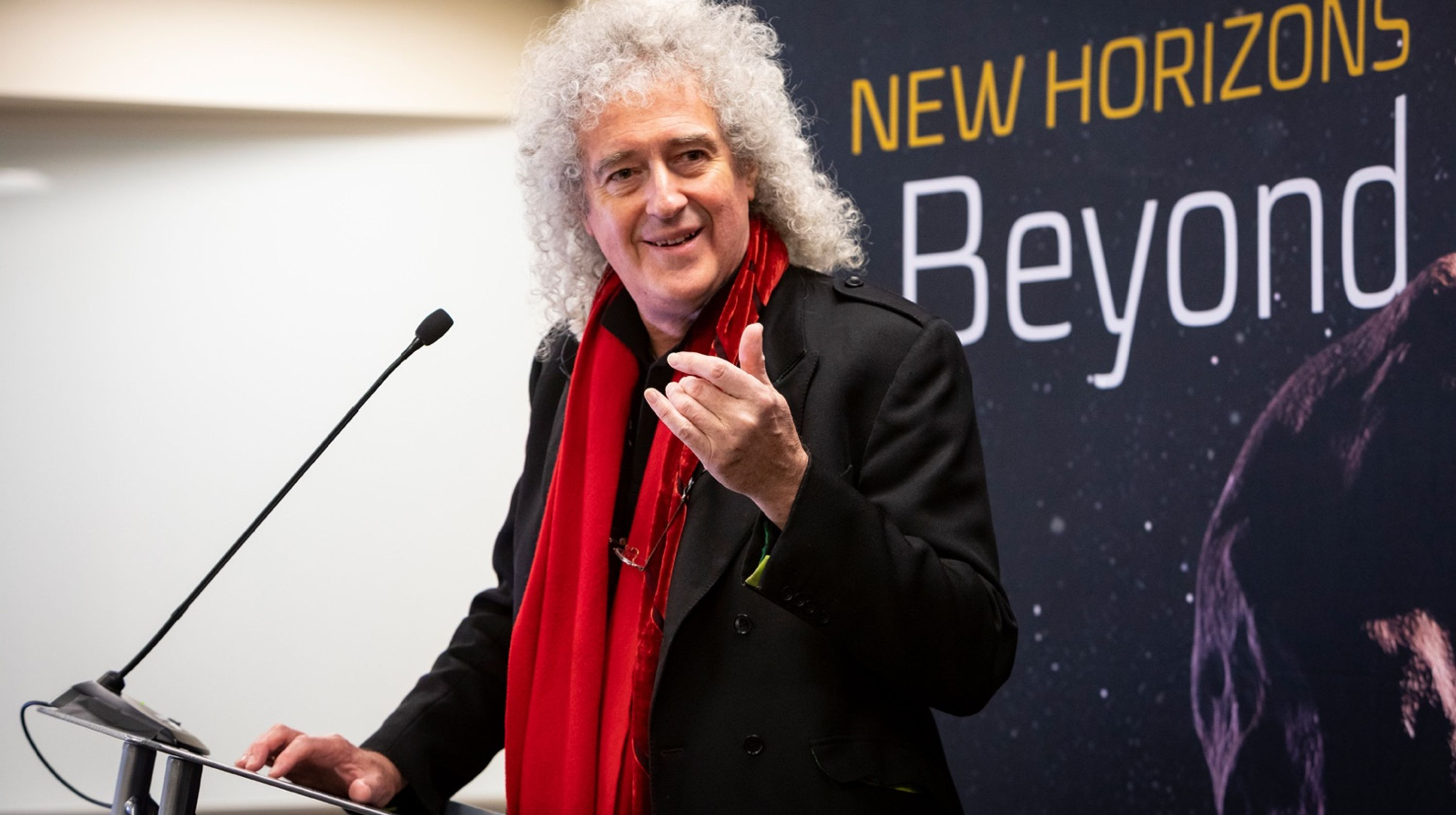 Queen guitarist Brian May releases new song dedicated to NASA's New Horizons mission