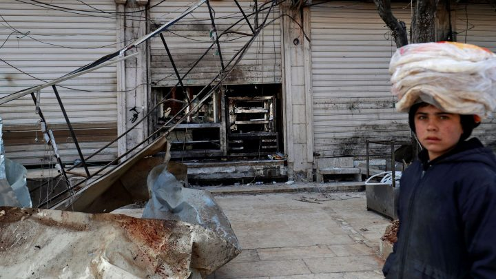 Syria suicide bomb that killed four US citizens also reignites debate over US pulling troops