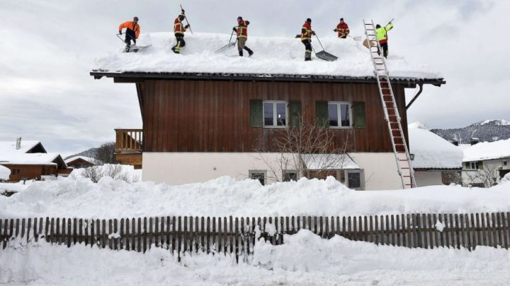 Germany evacuates citizens due to avalanche risk as death toll rises