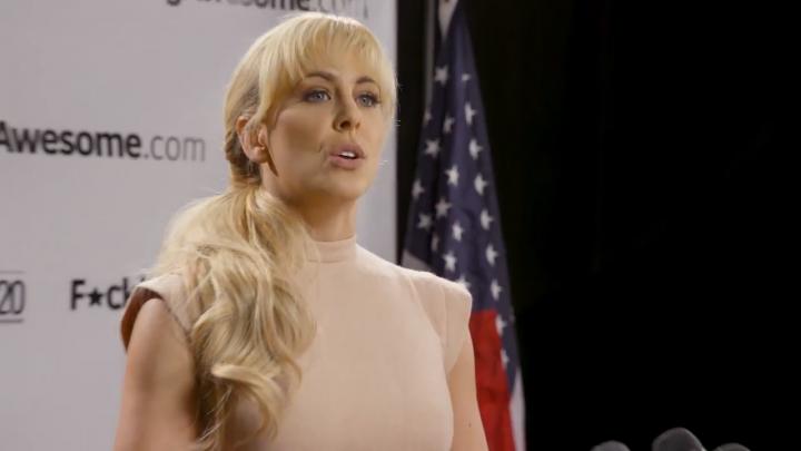 Porn star ends 2020 presidential bid after 17 months, endorses 'my love, Bernie'