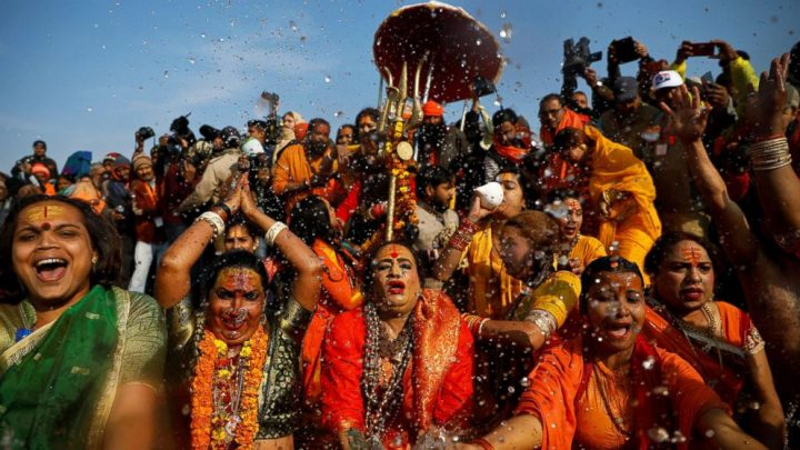 Millions congregate for world's largest gathering, a Hindu festival in India