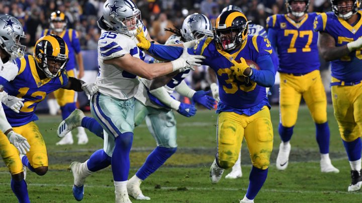Rams Land a Devastating 1-2 Punch in the N.F.L. Playoffs