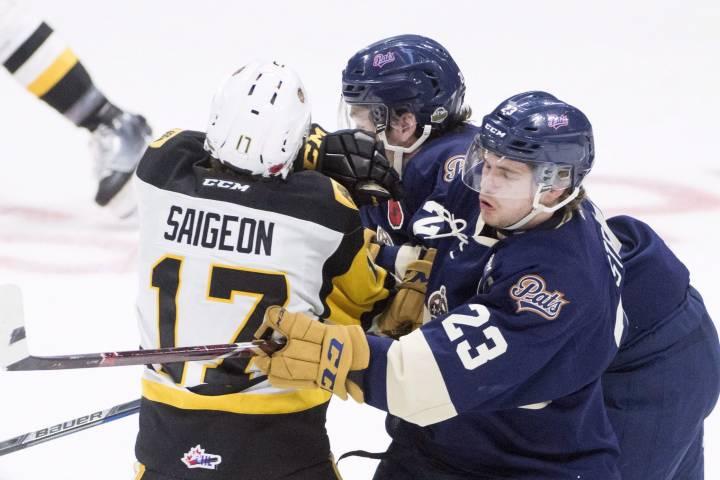 Hamilton Bulldogs trade Brandon Saigeon to Oshawa Generals