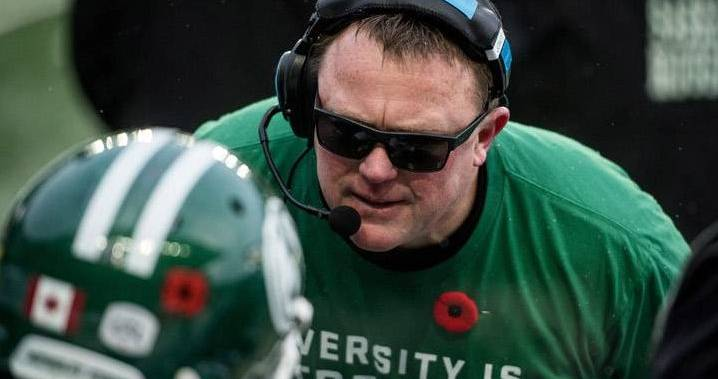 Roughriders begin search for Chris Jones' replacement