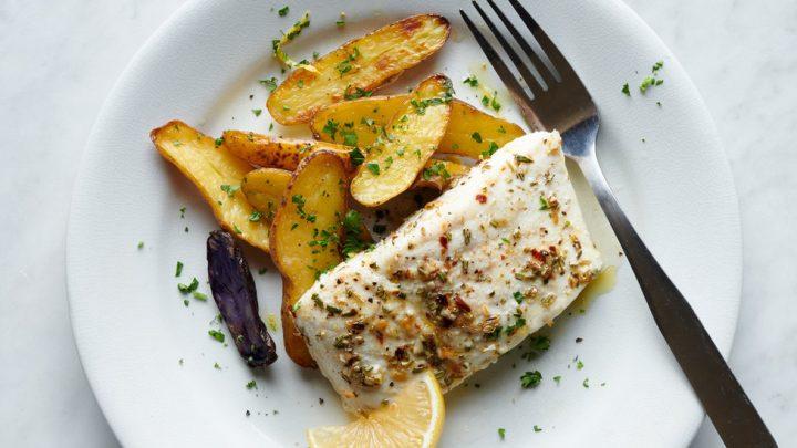 Juicy Fish, Crisp Potatoes and Minimal Fuss
