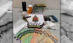 Hamilton man arrested after drug bust at Mountain residence