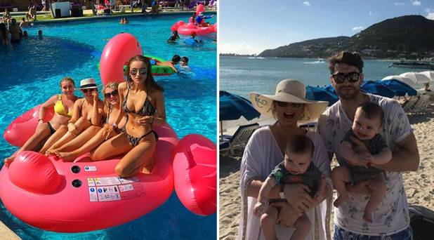 All-Ireland winners Dublin and Limerick escape the January blues with other halves on sun-soaked getaway