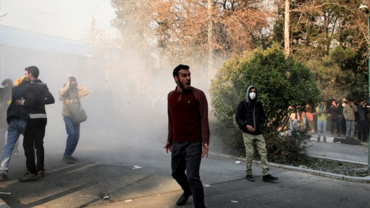 Death toll jumps as Iran protests continue