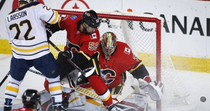 Buffalo Sabres win 4-3 in OT over Calgary Flames