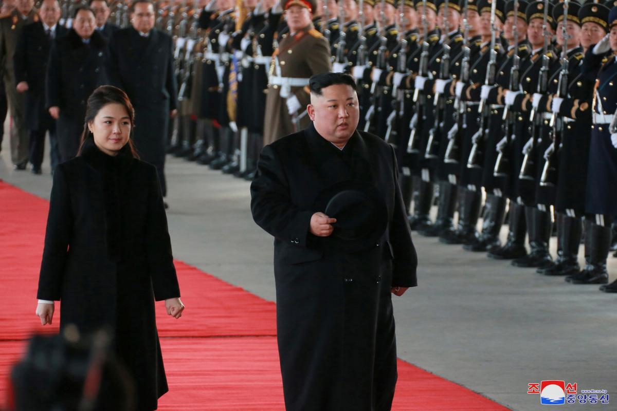 North Korea leader visits China amid talks of second summit with Trump