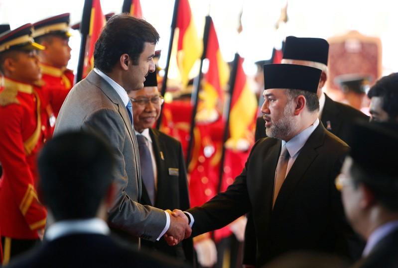 Malaysia's king steps down: palace statement
