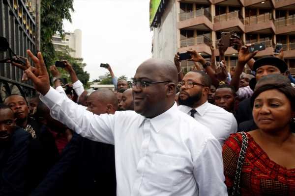 Congo presidential loser's supporters cry foul after surprise result
