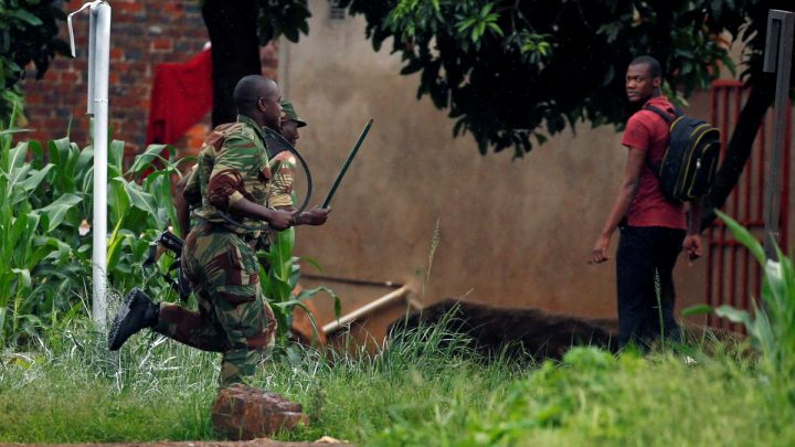 Soldiers patrol Zimbabwe streets after protests kill three people