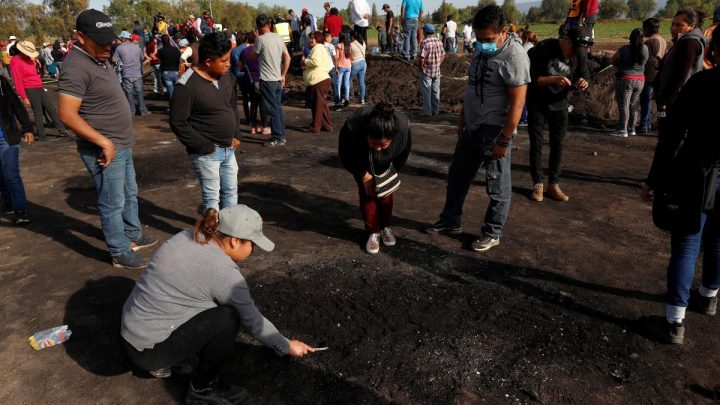 Death toll from Mexico pipeline blast rises to 85: health minister