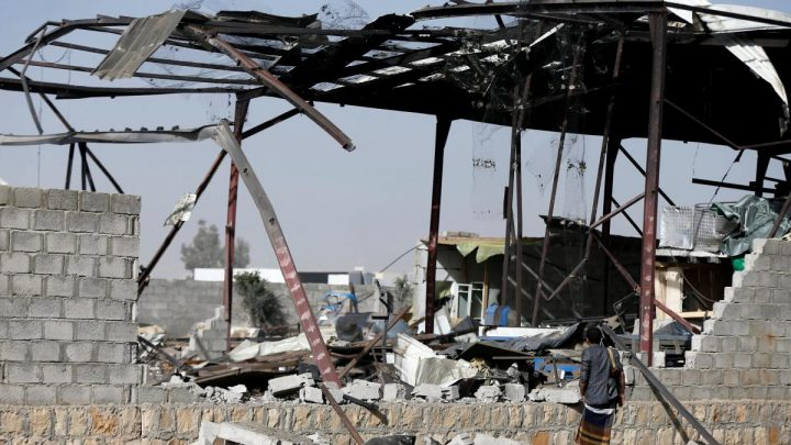 Saudi-led coalition's planes pound Yemen's capital