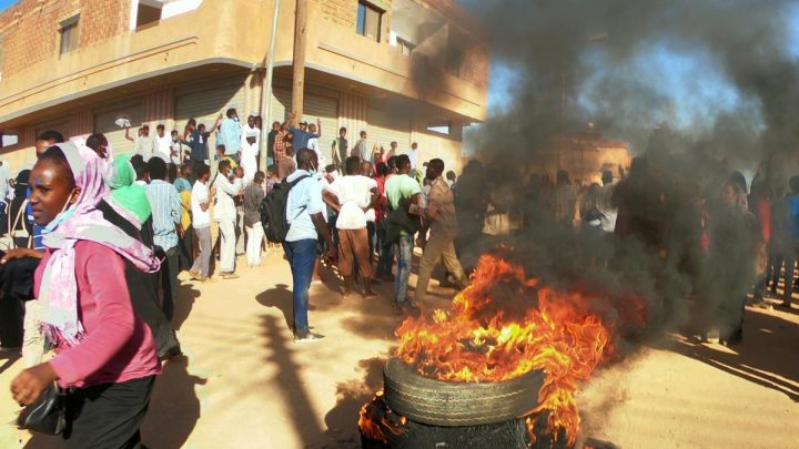 Sudan protesters clash with police in ongoing unrest