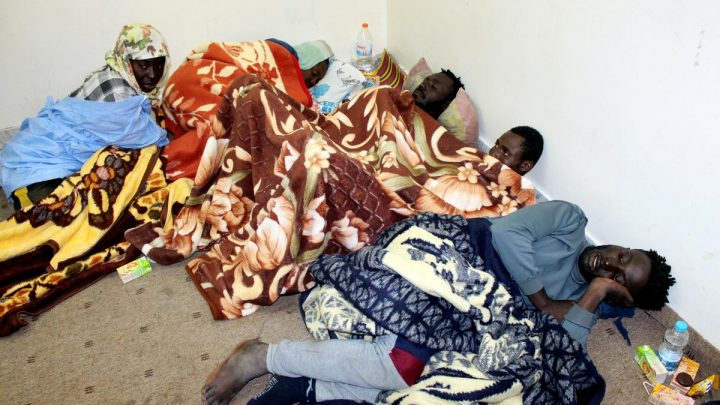 Aid effort brings little relief for migrants trapped in Libya