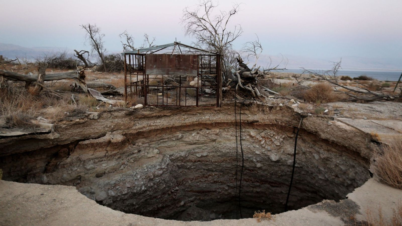 Dead Sea: Biblical wonder is facing 'environmental disaster in slow motion'
