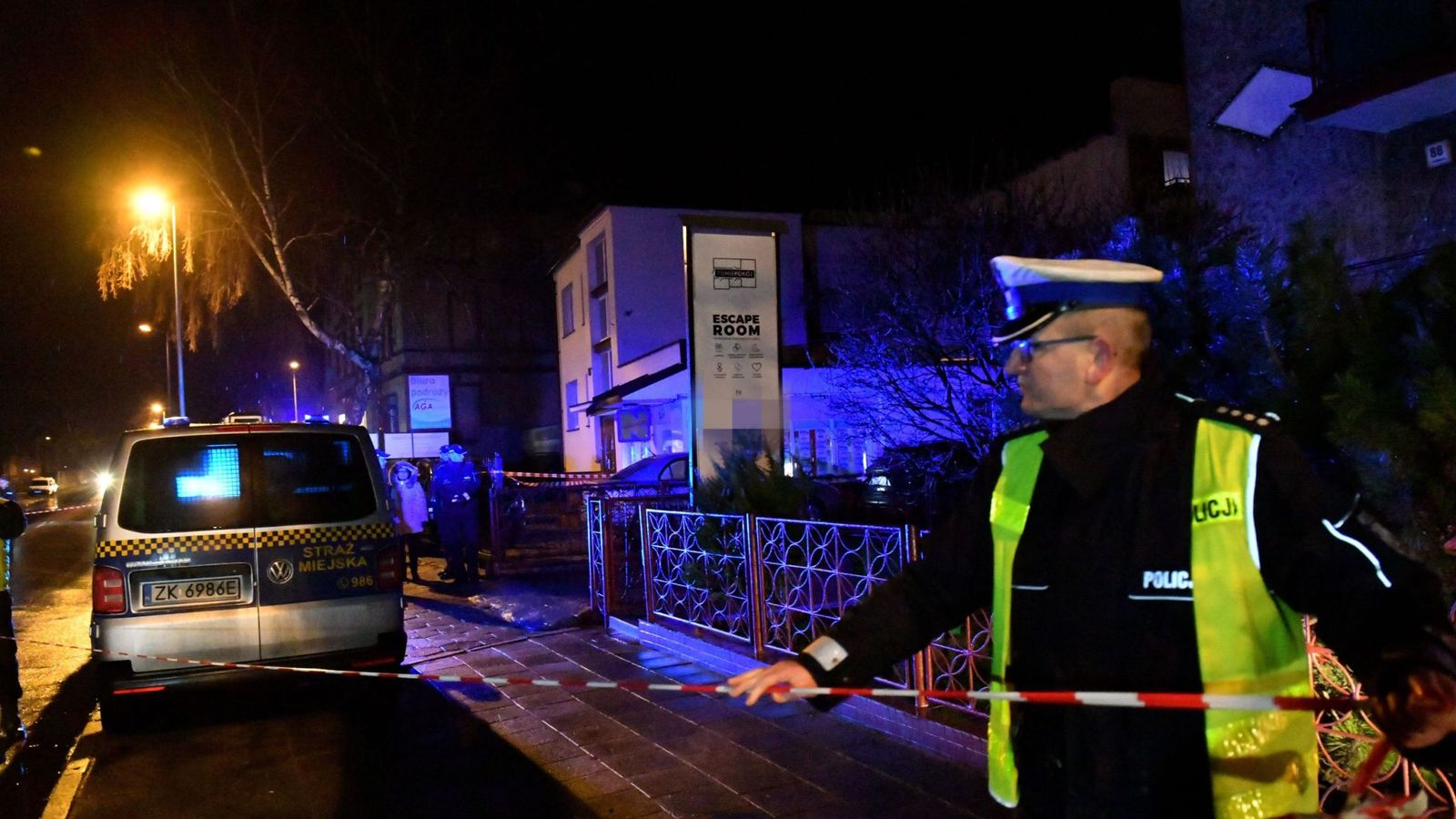 Man charged over escape room fire deaths