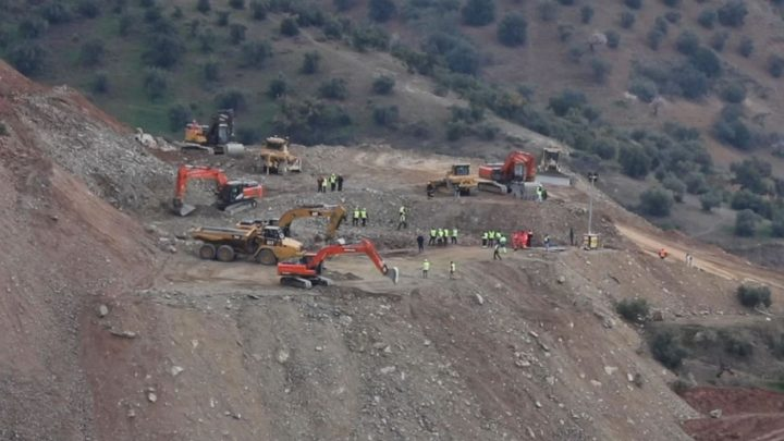 Rescuers start drilling in search for two-year-old boy stuck in Malaga well for six days