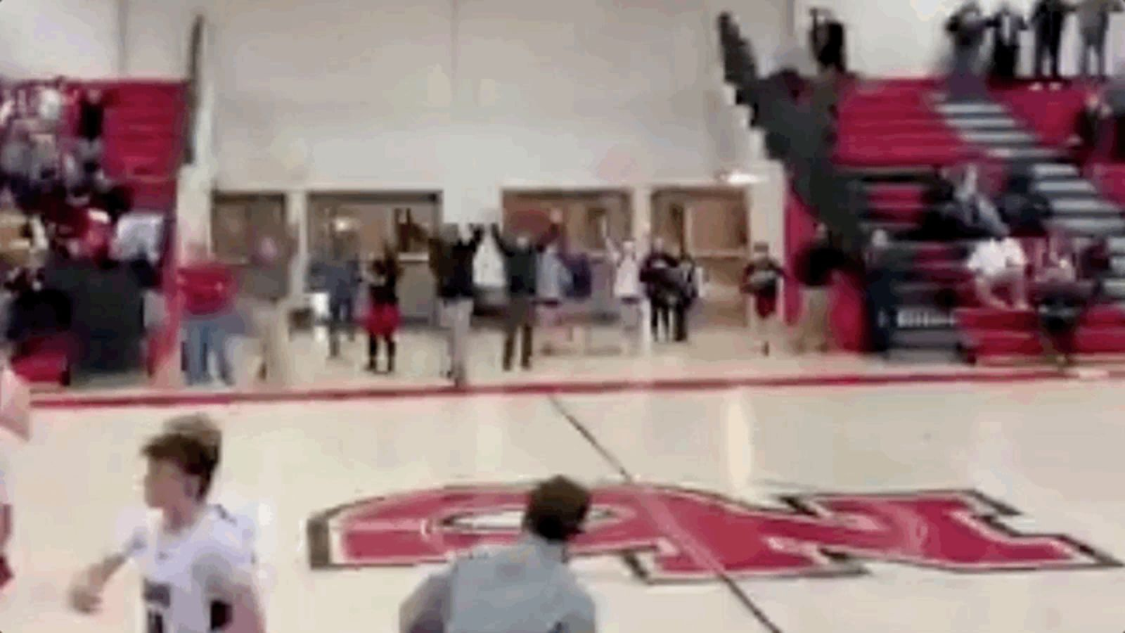 High School Player Coolly Nails The Game-Winning Interception-Into-Buzzer-Beater