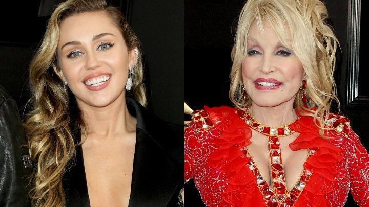 Miley Cyrus Spends Over $100K at Charity Auction for a Day With Dolly Parton