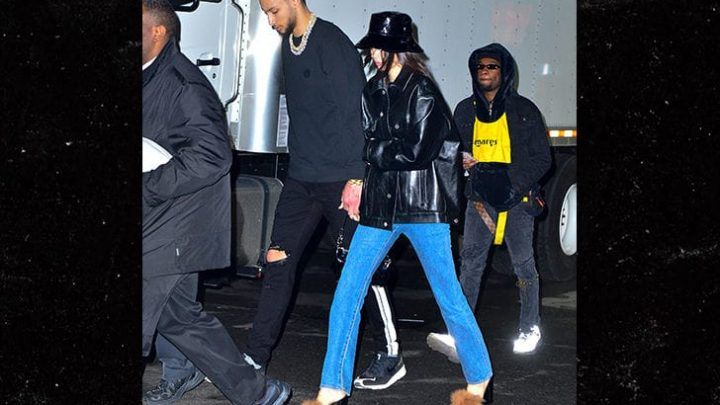 Kendall Jenner Consoles Ben Simmons After Vicious Dunk Attack