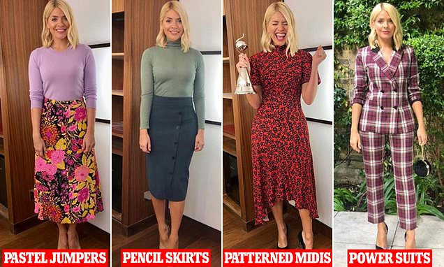Holly's wardrobe heroes! Experts reveal FOUR styles the star relies on