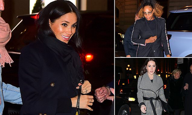 Meghan Markle goes to dinner with Serena Williams and Jessica Mulroney