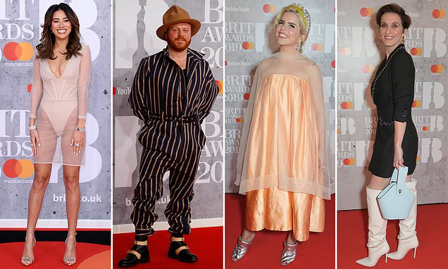 Red carpet catastrophes! The WORST dressed at the Brit awards