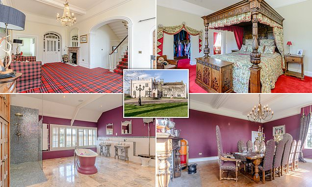 Staffordshire four-bedroom hall goes on the market for £1m