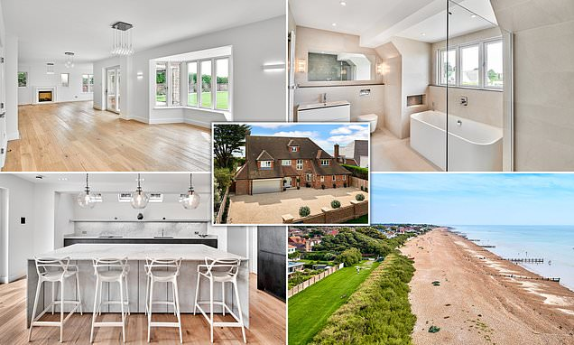 Five-bedroom home with stunning sea views goes on the market