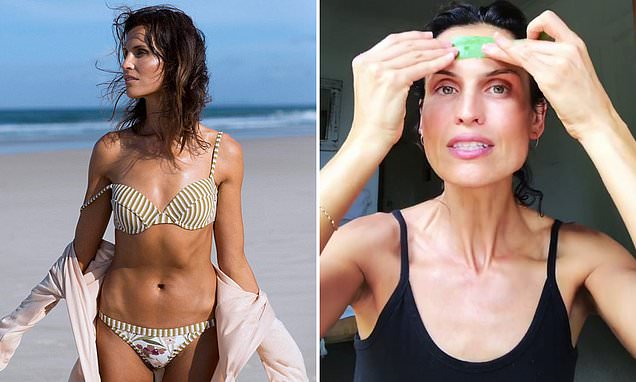 Model, 44, who looks half her age shares her surprising beauty secrets