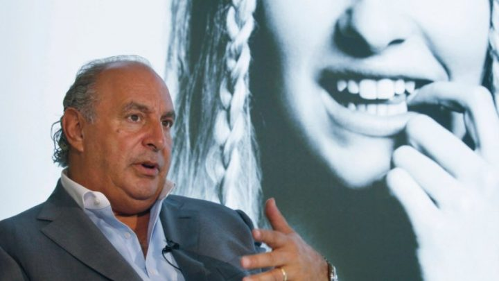 UK paper reveals abuse claims against tycoon Sir Philip Green