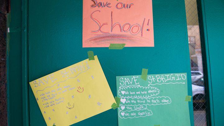 Closing of 163-year-old St. Brigid School leaves students shocked