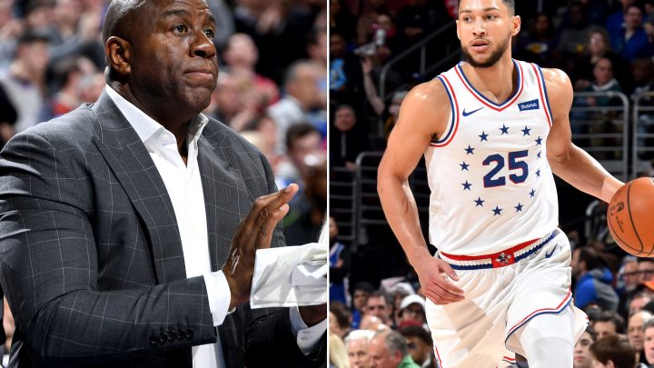 A Magic Johnson-Ben Simmons mentorship could be perfect and real weird