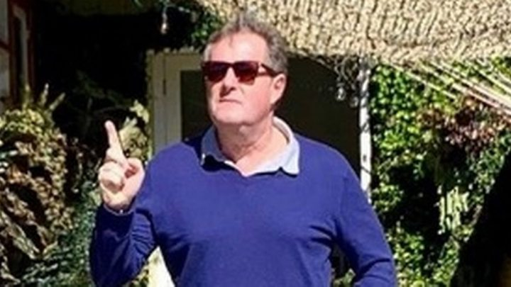 Inside Piers Morgan's swanky LA hols with drag bingo and golf with Vinny Jones