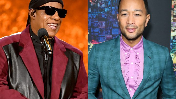 Stevie Wonder, John Legend headline Motown tribute concert