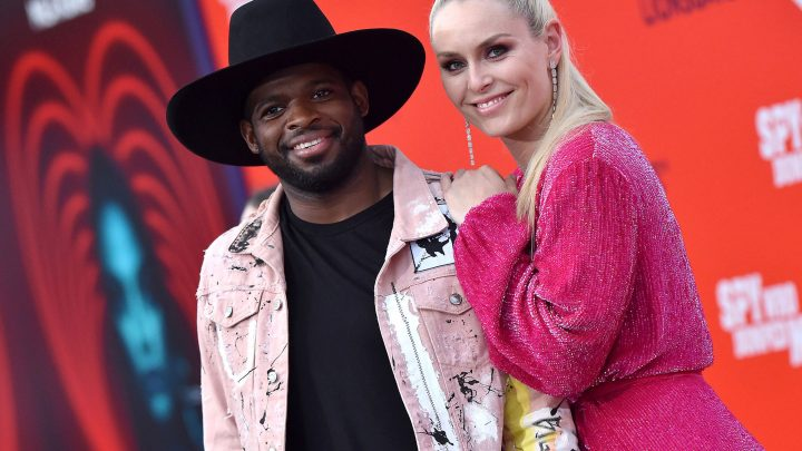Lindsey Vonn was briefly 'freaked out' by P.K. Subban's homecoming surprise