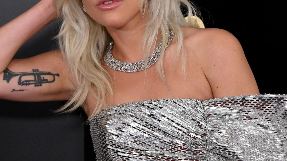 Lady Gaga Just Got A Music Note Tattoo — And It Had A MAJOR Mistake