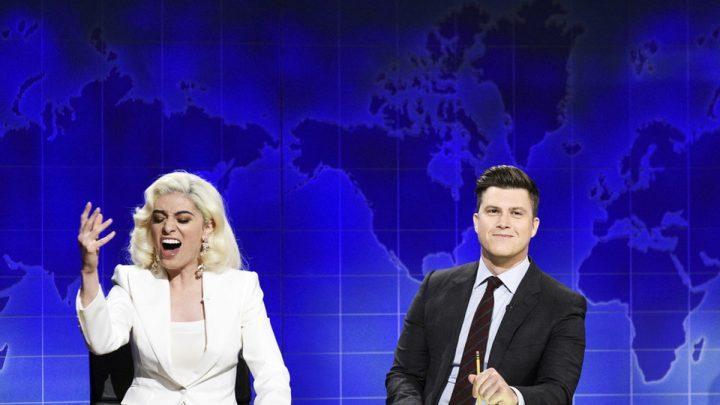 'SNL' Brought Back Melissa Villaseñor's Lady Gaga Impression For A Hilarious Oscars Parody