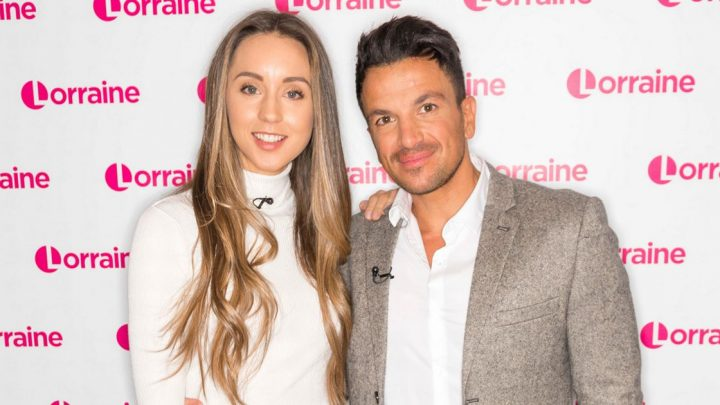 Peter Andre's wife Emily gushes over his Valentine's Day surprise